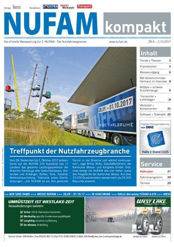 NUFAM Messezeitung