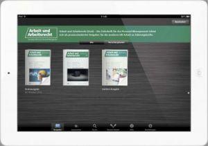 Neue App Der Zeitschrift Arbeit Und Arbeitsrecht Vorgestellt