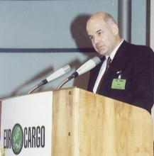 Huss Wolfgang auf der Eurocargo